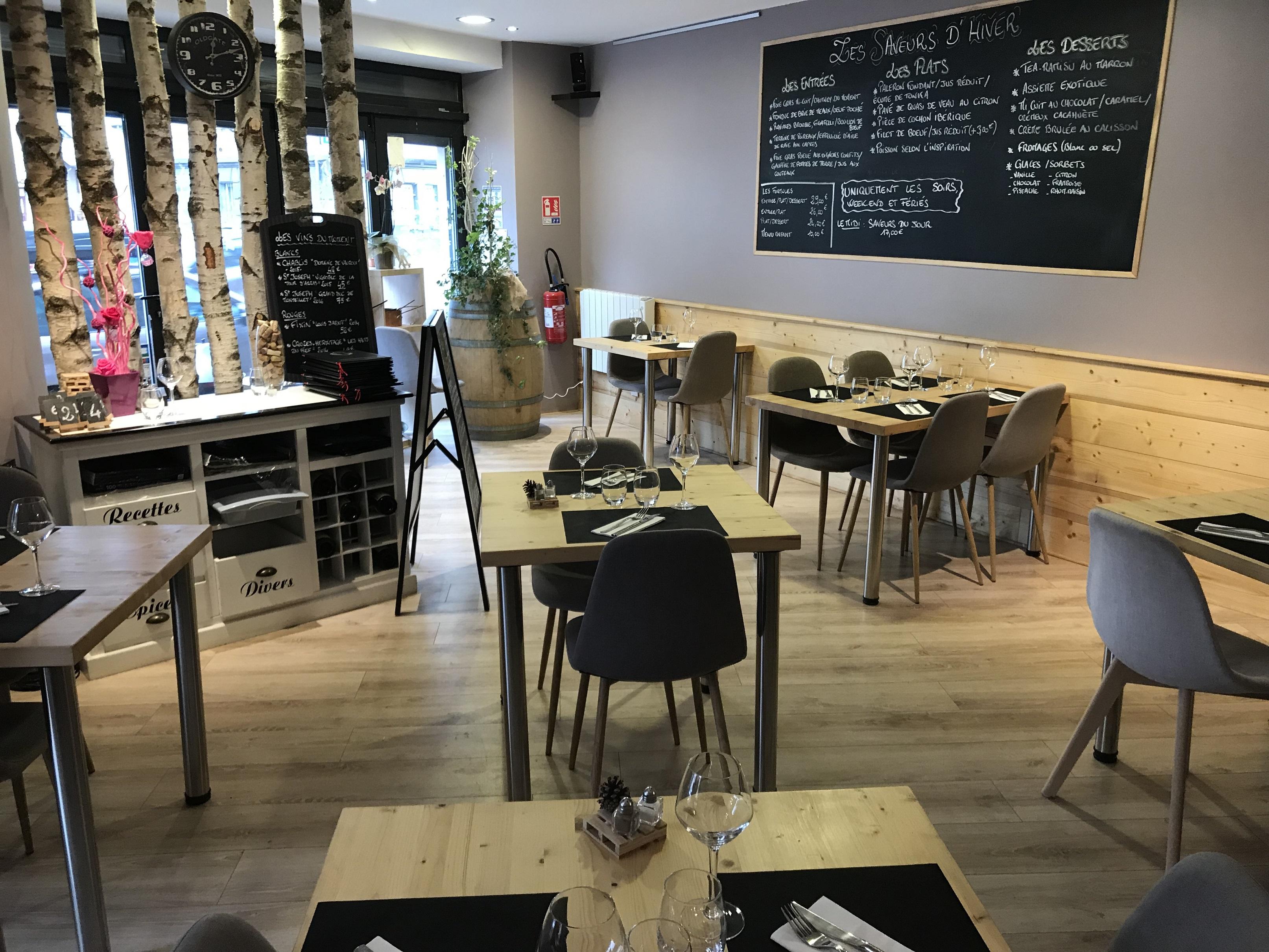 Restaurant L'Atelier des saveurs La Mure